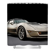 Corvette C3 Shower Curtain