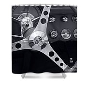 Corvette Classic Shower Curtain