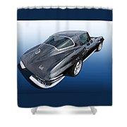 Corvette Stingray 1966 Shower Curtain