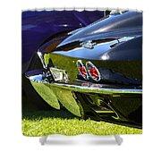 Corvette Stingray Shower Curtain