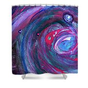 Cosmic Activity 15 Shower Curtain