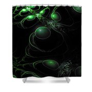 Cosmic Alien Eyes Original 2 Shower Curtain