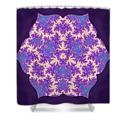 Cosmic Dragonfly Shower Curtain