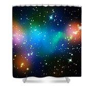 Cosmic Glow Shower Curtain