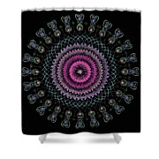 Cosmic Hug Shower Curtain