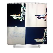 Cosmic Intelligence Shower Curtain