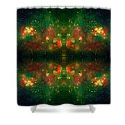Cosmic Kaleidoscope 3 Shower Curtain by Jennifer Rondinelli Reilly - Fine Art Photography