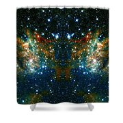 Cosmic Phoenix  Shower Curtain