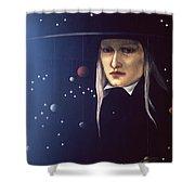 Cosmic Pilgrim Shower Curtain