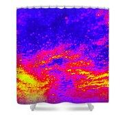 Cosmic Series 005 Shower Curtain