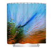 Cosmic Series 006 - Under The Sea Shower Curtain