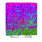 Cosmic Series 014 Shower Curtain