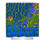 Cosmic Series 019 Shower Curtain