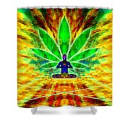 Cosmic Spiral Ascension 34 Shower Curtain