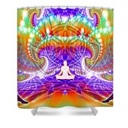 Cosmic Spiral Ascension 60 Shower Curtain