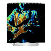 Cosmic Tones From Mick Shower Curtain