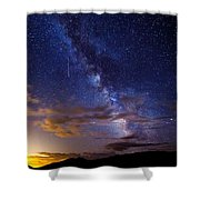 Cosmic Traveler  Shower Curtain