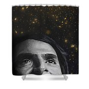 Cosmos- Carl Sagan Shower Curtain