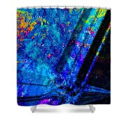 Cosmos Of Colour Shower Curtain