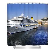 Costa Cruise Ship Shower Curtain