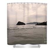 Costa Rica Coast Shower Curtain