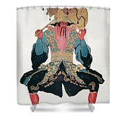 Costume Design For A Chinaman Shower Curtain