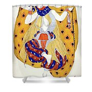 Costume Design For A Dancer Shower Curtain