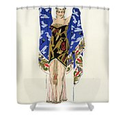 Costume Design For A Dancing Girl Shower Curtain
