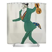 Costume Design For Paganini In The Enchanted Night Shower Curtain