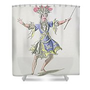 Costume Design For The Magician Shower Curtain