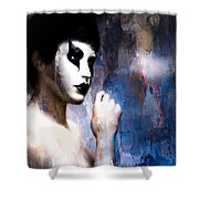 Costume Of Control Version Two  Shower Curtain