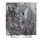 Costumed Cloud Shower Curtain