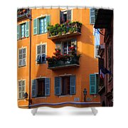 Cote D'azur Alley Shower Curtain