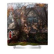 Cottage - Cranford Nj - Autumn Cottage  Shower Curtain