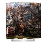 Cottage - Cranford Nj - Autumn Cottage  Shower Curtain