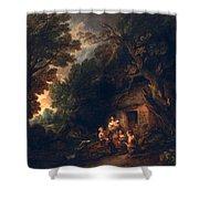 Cottage Door, C.1780 Shower Curtain