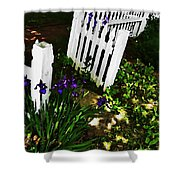 Cottage Entry  Shower Curtain