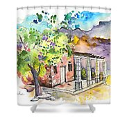Cottage In Barca De Alva Shower Curtain