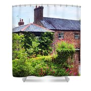 Cottage In England Shower Curtain