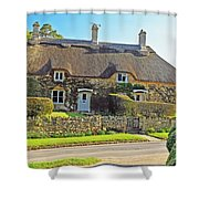 Cottage Of The Cotswolds Shower Curtain