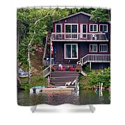 Cottage On The Water Shower Curtain