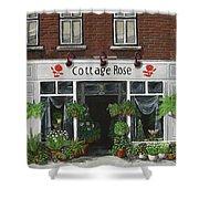 Cottage Rose Shower Curtain