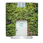 Cottage With Ivy Shower Curtain