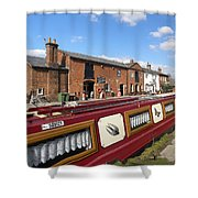 Cottages At Fradley Junction Shower Curtain