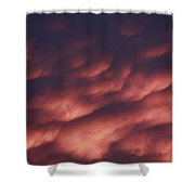 Cotton Candy Clouds Shower Curtain