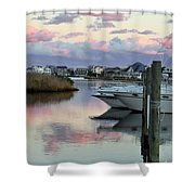 Cotton Candy Clouds Two Shower Curtain