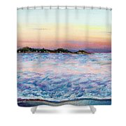 Cotton Candy Waters Shower Curtain