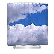 Cotton Clouds Shower Curtain