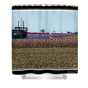 Cotton Harvest Shower Curtain