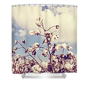 Cotton In The Sky With Filter Shower Curtain